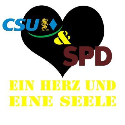 CSU & SPD - Ein Herz und eine Seele in Gilching