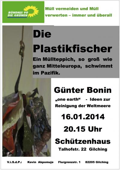 Plakat - Die Plastikfischer
