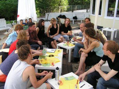 Dialog mit Jugendlichen