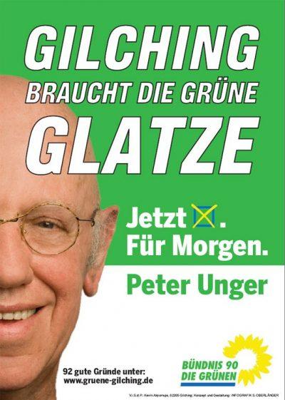 Gilchings Grüne Glatze: Peter Unger