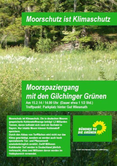 Moorspaziergang mit den Gilchinger Grünen