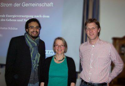 Kevin Akpomuje, Anja Kiemle, Justus Schütze (buzzn)
