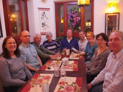 Gilchinger Grüne zu Besuch bei den Germeringer Grünen