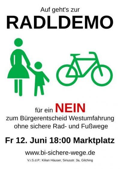 Plakat Radldemo