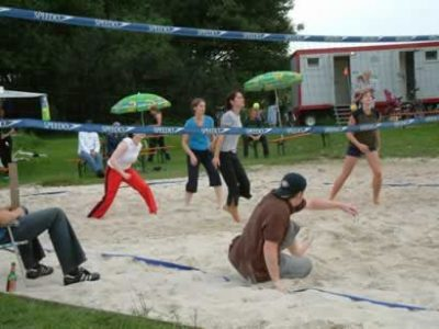 Beachvolleyballplatz in Gilching