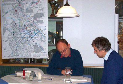 Kilian Häuser und Hubert Laux