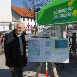 W. Deiglmayr erläutert die Trinkwasserkarten