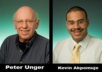 Peter Unger & Kevin Akpomuje