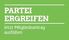 Partei ergreifen - Mitgliedsantrag Grüne