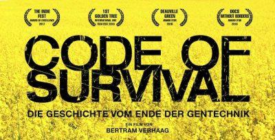 Code of Survival - Ausschnitt Filmplakat