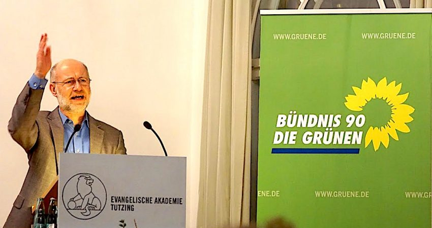 Prof. Harald Lesch spricht auf dem Neujahrsempfang der Starnberger Kreis-Grünen