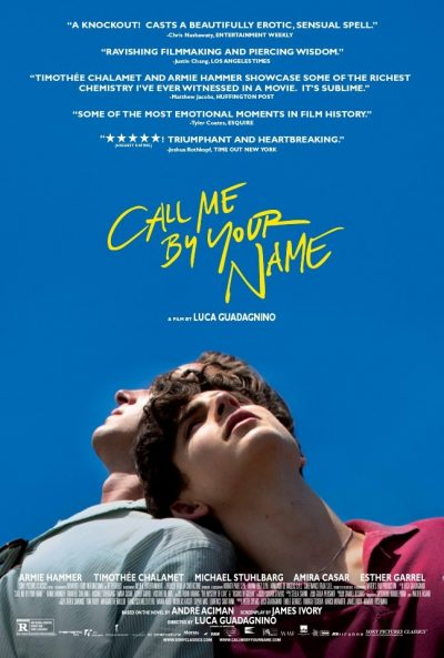 Kinoplakat: Call me by your name