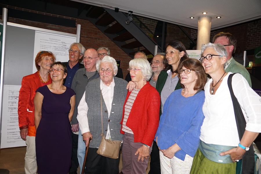 Gruppenbild Jung & Alt (Fotos: M.Pilgram)