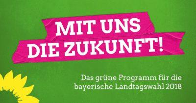 Grüne Bayern Programm Titel