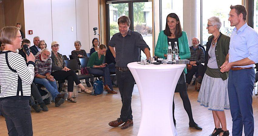 Habeck und Hartmann in Gilching (Foto: M.Pilgram)