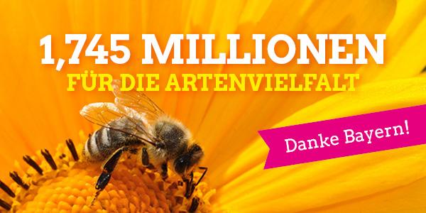 Gilching in Bayern ganz vorne bei Unterschriften für Artenvielfalt!