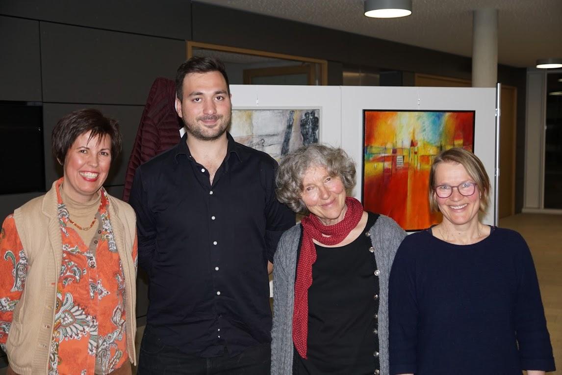 v.l.n.r.: Franke, Billor, Schwarzbeck, Kiemle (Foto: M.Pilgram)