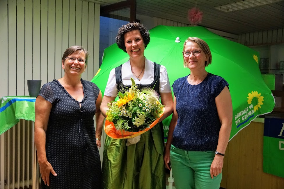 Gilchinger Grüne wählen Diana Franke zur Bürgermeisterkandidiatin