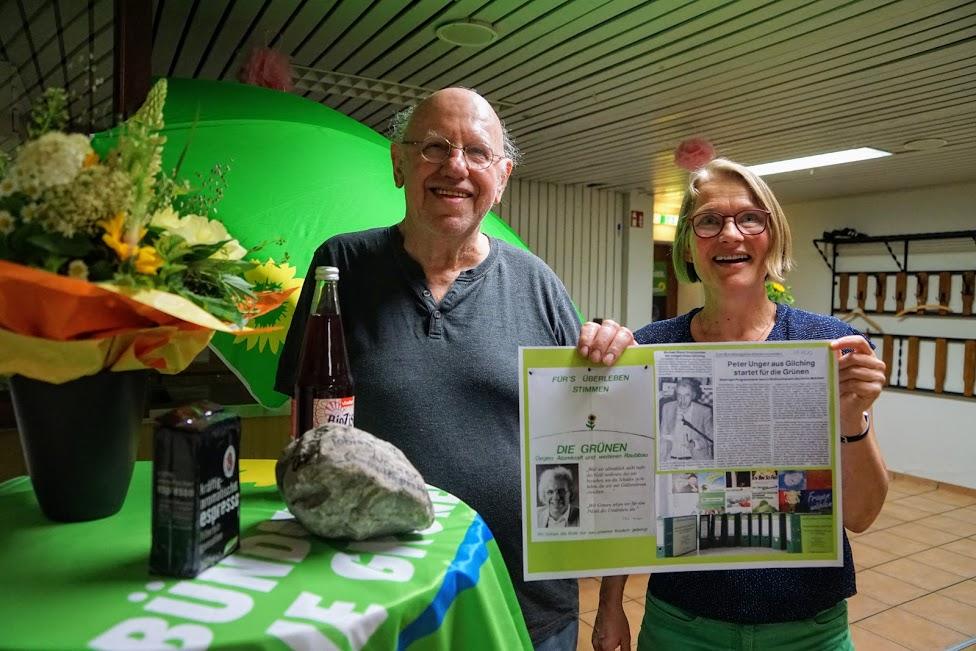 Peter Unger seit 40 Jahren für die Grünen im Gemeinderat