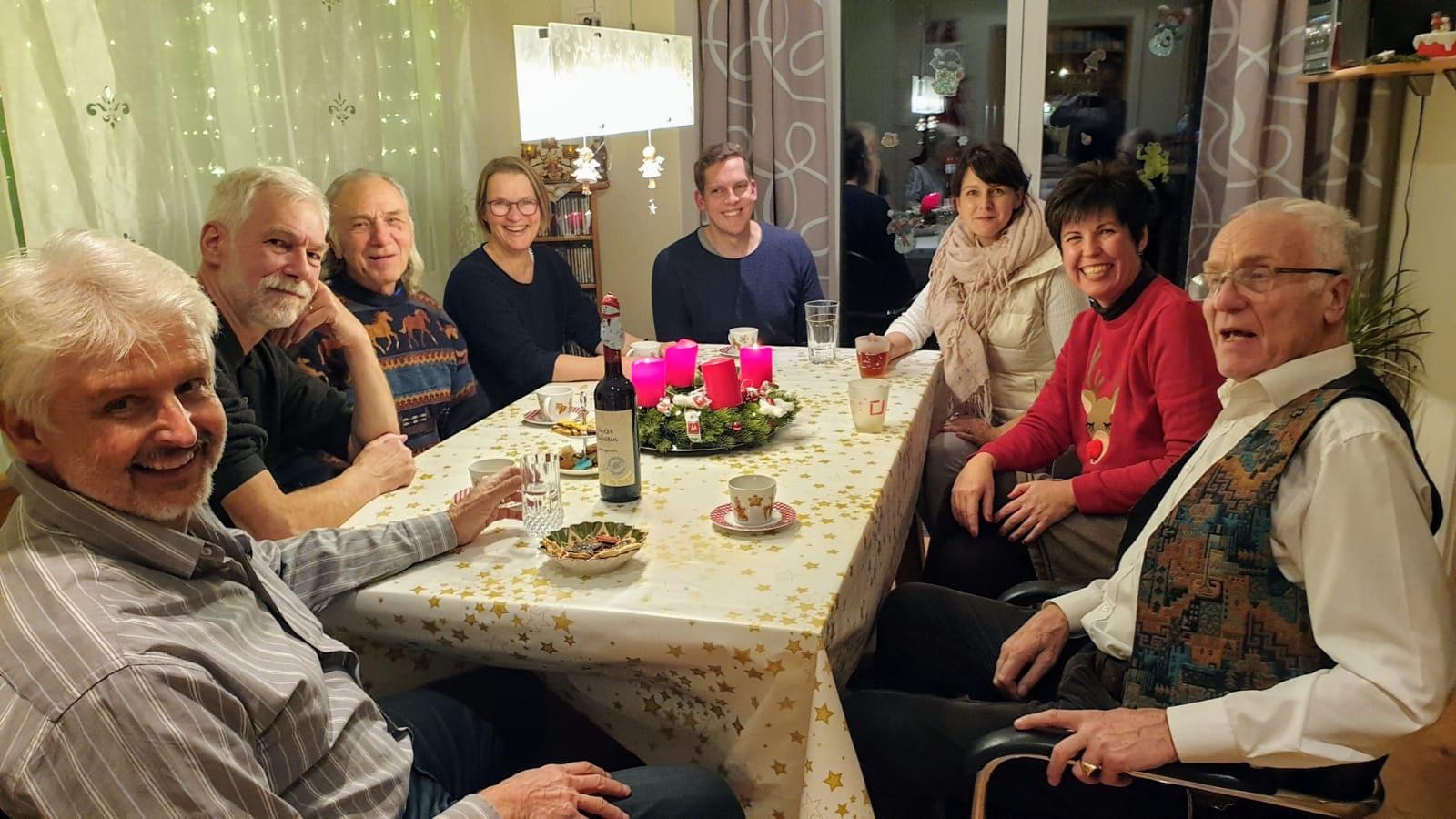 Adventskalender-Treffen der Grünen bei Diana Franke