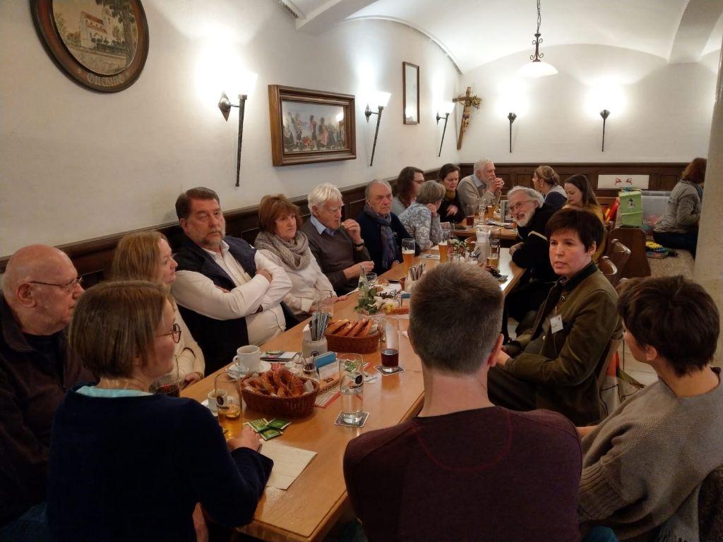 Frühschoppen der Gilchinger Grünen mit Bürgermeisterkandidatin Diana Franke