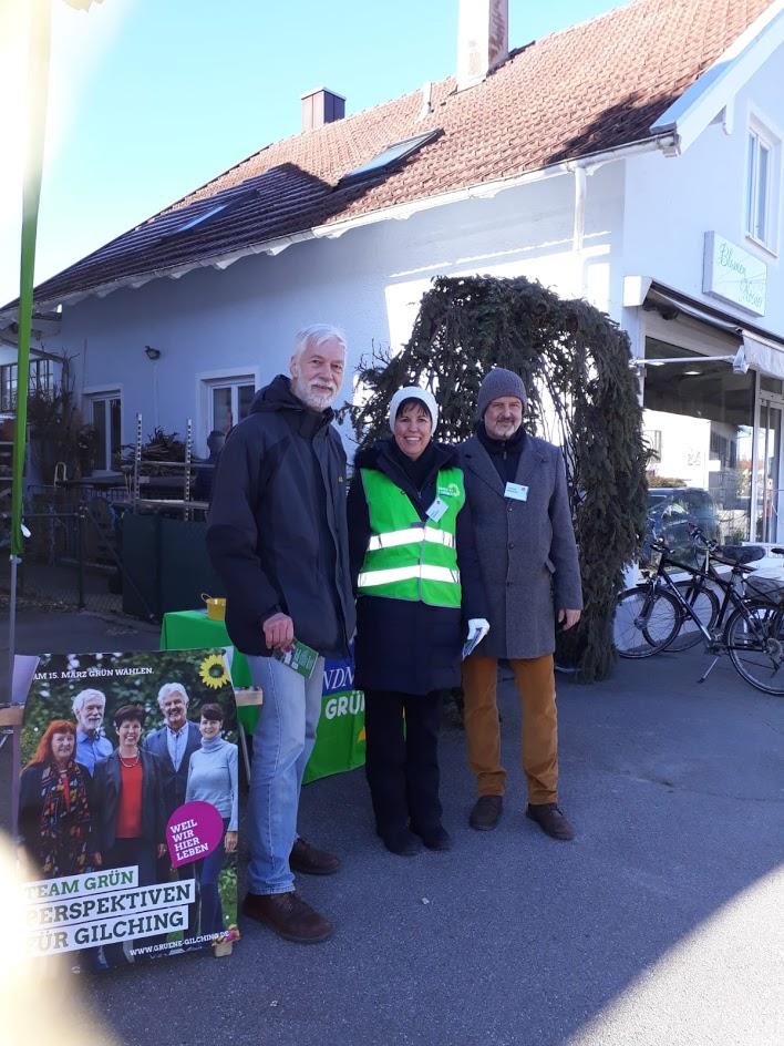 Infostand im Altdorf
