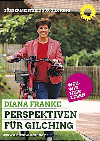 Diana Franke, Bürgermeisterkandidatin für Gilching (für mehr Infos hier klicken)