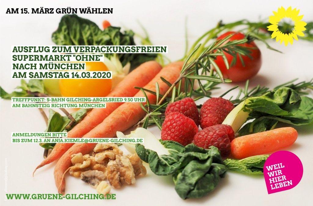 Einladung: Ausflug zu Unverpackt-Laden in München am Samstag, 14. März