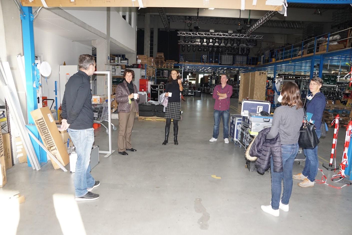 Im Dialog mit regionalen Unternehmen – Besuch von Grünen-GR´s und MdL Anne Franke bei Limelight