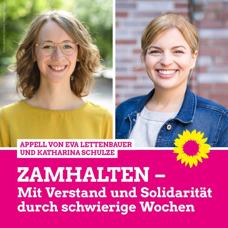 """""""Zamhalten: Mit Verstand und Solidarität durch schwierige Wochen"""""""