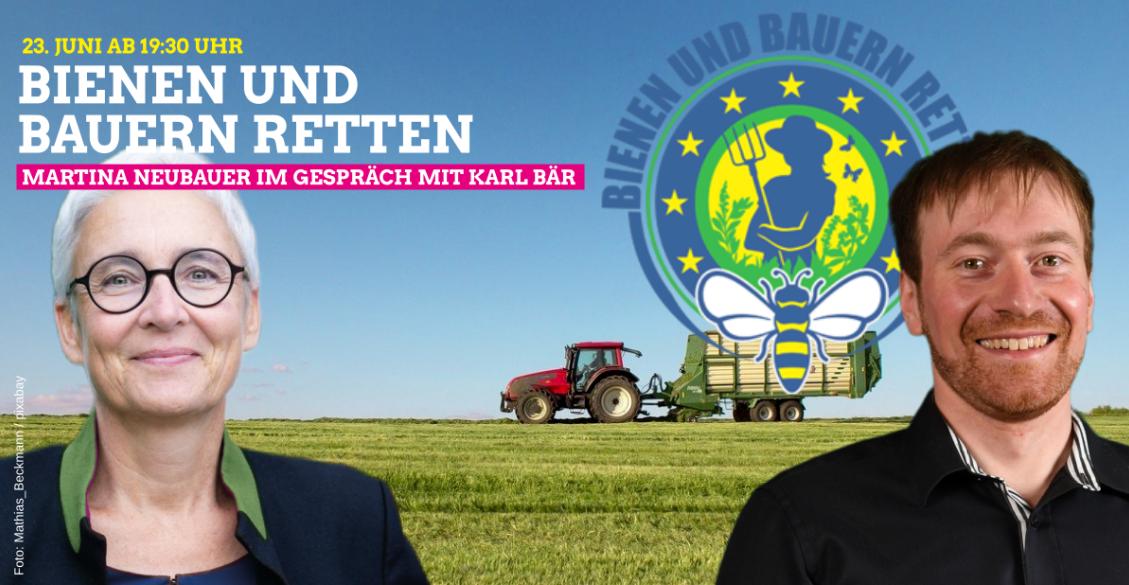 Martina Neubauer und Karl Bär im Gespräch