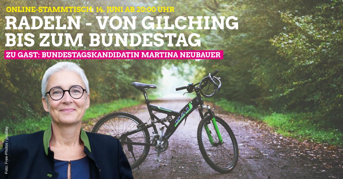 """Rückblick: Grüne-Radlstammtisch """"Radeln – Von Gilching bis zum Bundestag"""""""