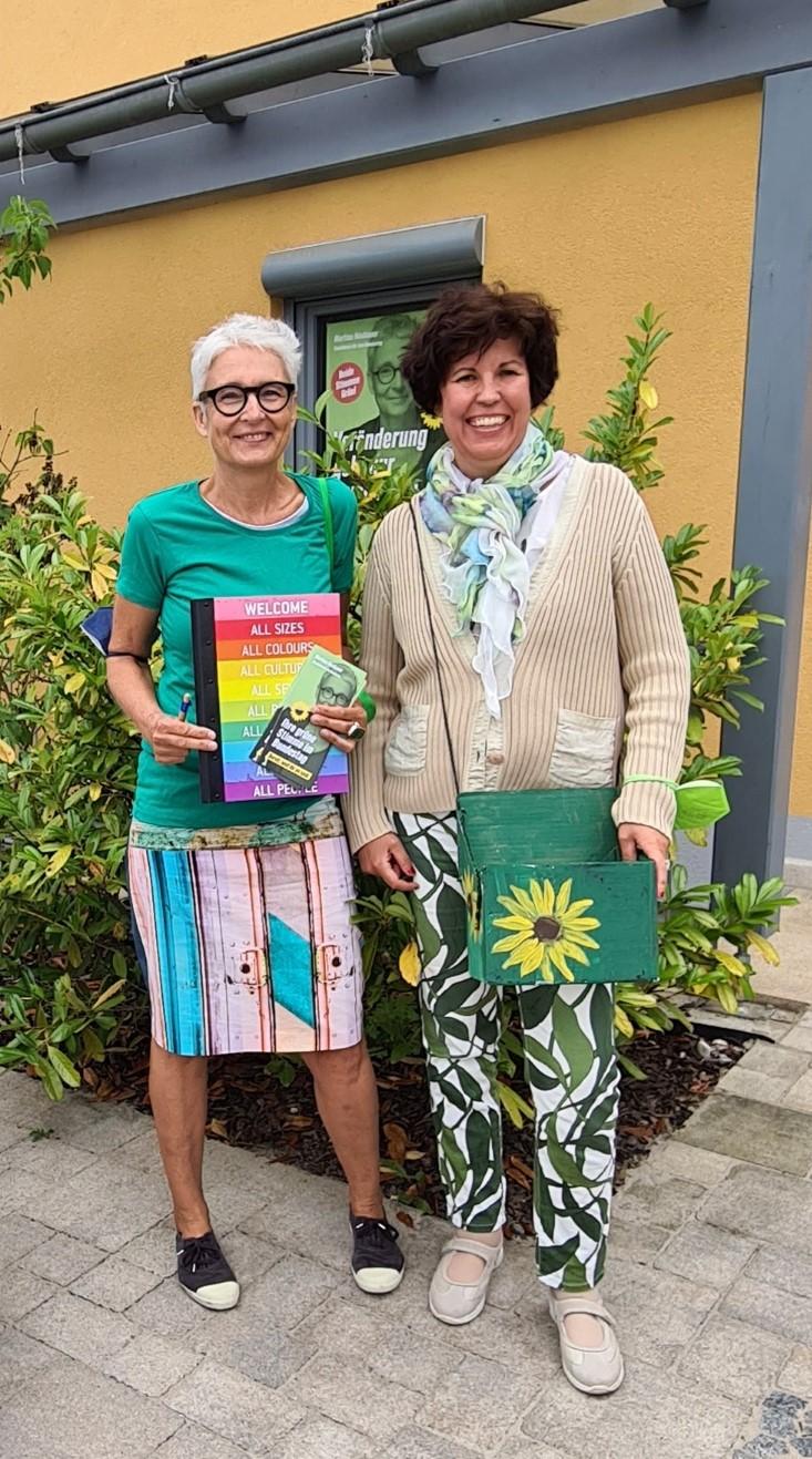 """""""Grün klingelt"""" – Martina Neubauer und Diana Franke unterwegs"""