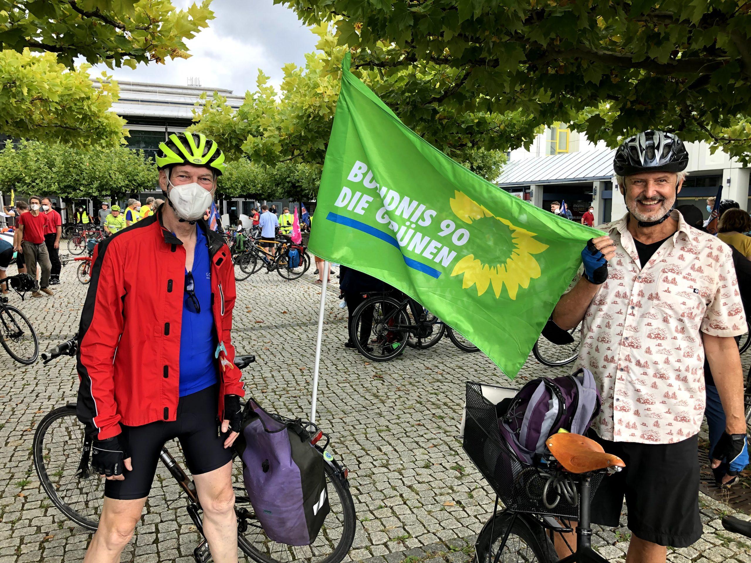 Rückblick auf Fahrradsternfahrt anlässlich der (IAA) am 11. September