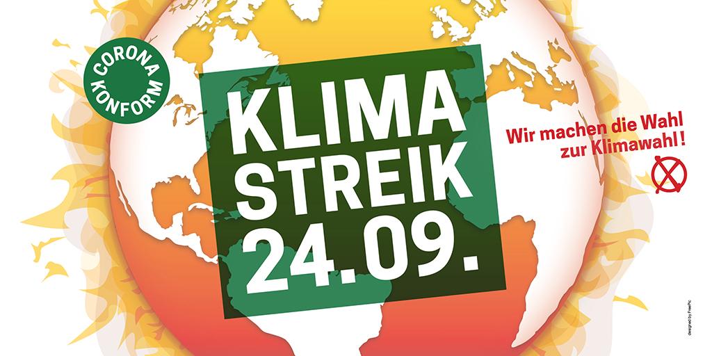Klimastreik am Freitag, 24.9.